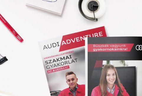 Audi Hungaria Instagram kreatívok