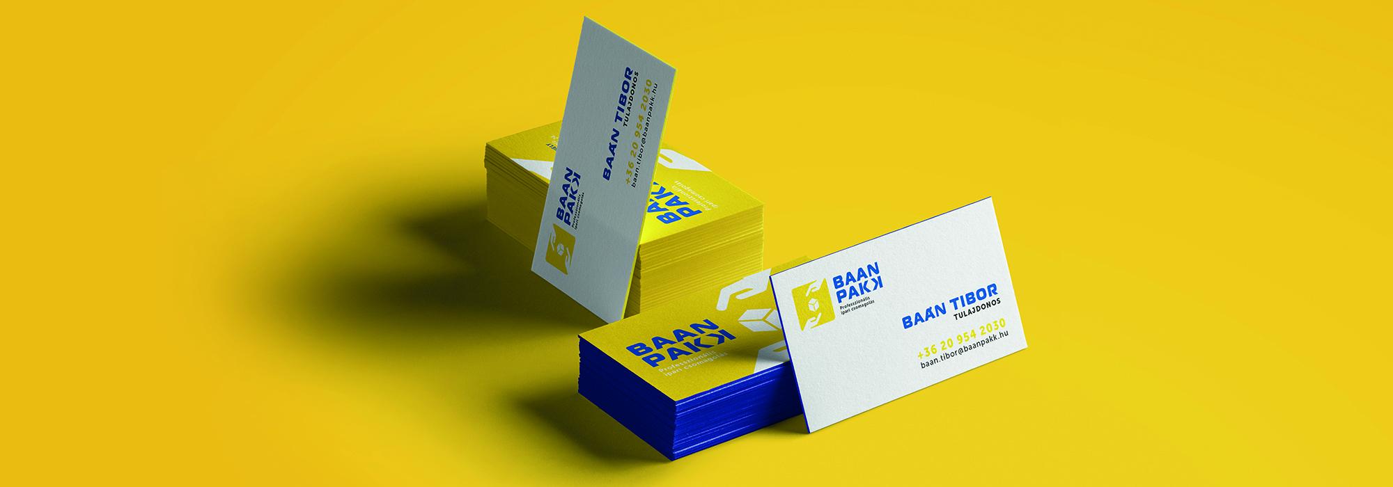 BAÁN PAKK rebranding