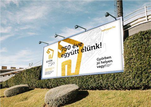 Győr Város branding