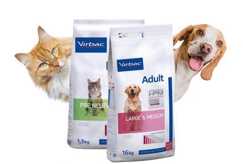 Virbac Veterinary HPM + White Dental social media tartalomgyártás
