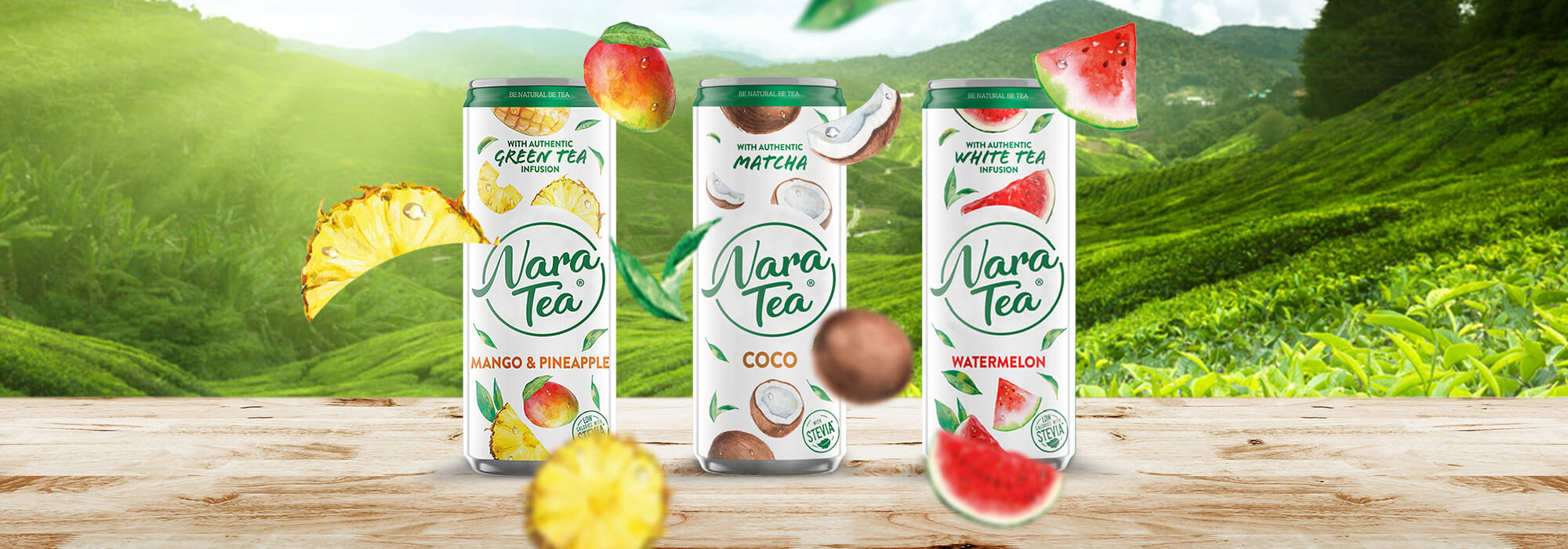 Nara Tea online marketing kampány - Nine Company