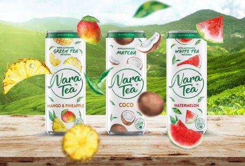Nara Tea online marketing kampány