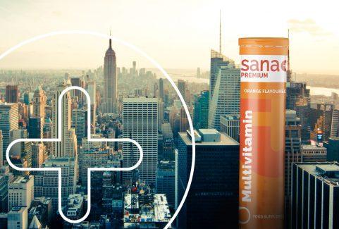 SANA+ rebranding