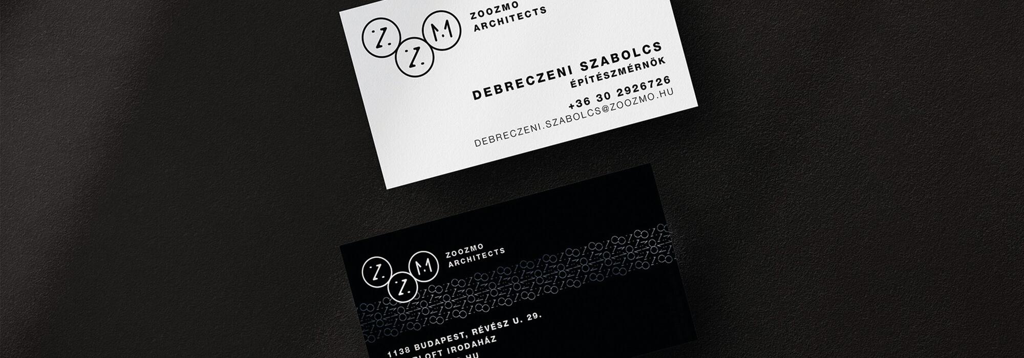 Zoozmo Architects brandépítés - Nine Company